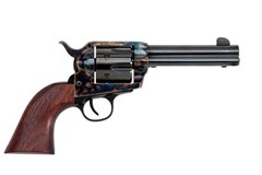 """Traditions 1873 Single Action 45 Colt  Item #: TDSAT73-002 / MFG Model #: SAT73-002 / UPC: 040589018096 1873 SA 45LC CCH/WD 4.75"""" FRONTIER SERIES"""