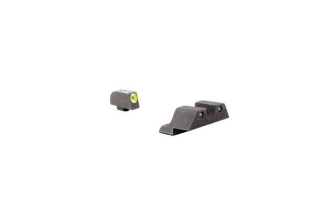 Trijicon Trijicon HD Night Sight Set  Accessory-Lasers and Sights - Item #: TRGL101Y / MFG Model #: GL101Y / UPC: 719307209640 - 3 DOT HD YLW NS GLOCK MODELS GL101Y   357SIG/45GAP   YELLOW
