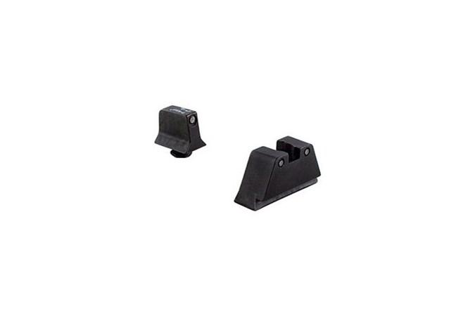 Trijicon GLOCK 3 Dot Suppressor NS Set  Accessory-Lasers and Sights - Item #: TRGL201C600661 / MFG Model #: GL201-C-600661 / UPC: 719307211285 - 3 DOT SUPPRESSOR NS GLOCK BLK GL201-C-600661
