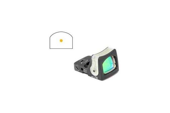 Trijicon RMR Dual Illuminated Sight  Accessory-Lasers and Sights - Item #: TRRM05 / MFG Model #: RM05 / UPC: 719307605596 - RMR D-I SIGHT 9.0 MOA AD RM05   AMBER DOT