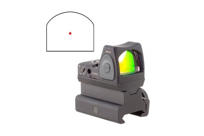 Trijicon RMR Type 2 Adjustable LED  Accessory-Lasers and Sights - Item #: TRRM06C700674 / MFG Model #: RM06-C-700674 / UPC: 719307614253 - RMR TYPE2 AS LED 3.25 MOA RM34 RM06-C-700674 | ADJ RED DOT