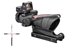 Trijicon ACOG w/RMR Type2 Red Dot Sight