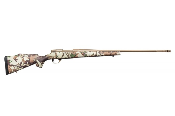 "Weatherby Vanguard First Lite 257 WBY Mag Rifle - Item #: WBVFN257WR8B / MFG Model #: VFN257WR8B / UPC: 747115434787 - VANGUARD FIRSTLITE 257WBY 26"" FDE CERAKOTE FLUTED BARREL"