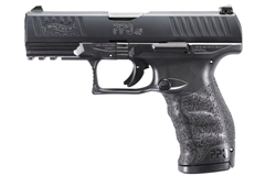 "Walther Arms PPQM2 45 ACP  Item #: WA2807076 / MFG Model #: 2807076 / UPC: 723364209352 PPQ M2 45ACP 12+1 4"" BLACK 1807076 STANDARD MAG RELEASE"
