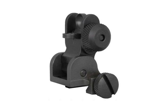 Yankee Hill Machine Company Flip Rear Sight  Accessory-Lasers and Sights