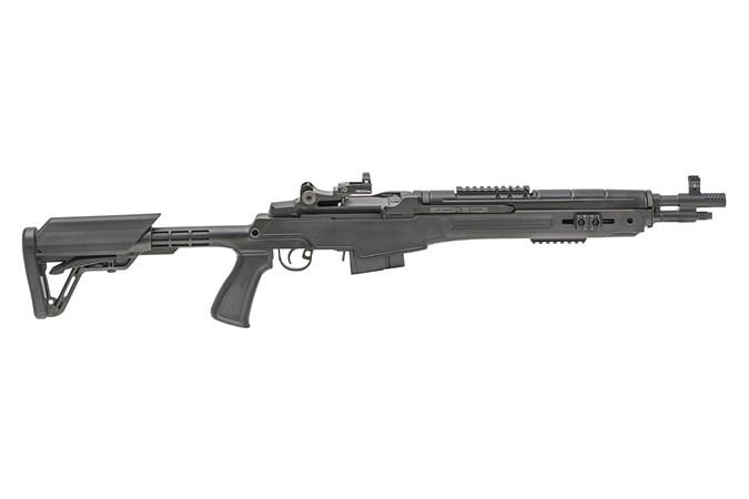 """Springfield Armory M1A SOCOM 7.62 x 51mm   308 Win Rifle - Item #: SFAA9611PK / MFG Model #: AA9611PK / UPC: 706397904685 - M1A SOCOM 16"""" 308 BLK CQB VRTX CARBON BBL / VORTEX VENOM SGHT"""