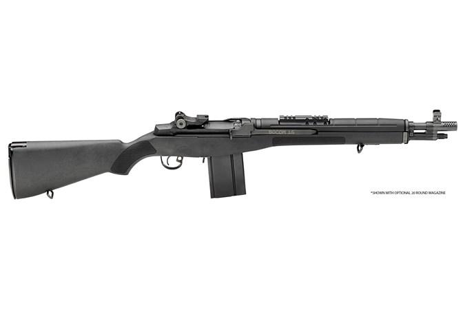 "Springfield Armory M1A SOCOM 7.62 x 51mm   308 Win Rifle - Item #: SFAA9626 / MFG Model #: AA9626 / UPC: 706397852665 - M1A SOCOM 16"" 308 BLACK SYN BLUE BARREL / BLACK SYNTHETIC"