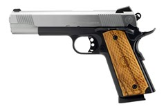 American Classic American Classic Government II 45 ACP  Item #: AC45G2DT / MFG Model #: AC45G2DT / UPC: 728028155723 GOV II 1911 45ACP DUO TONE 8+1 NOVAK REAR SGT/CHECK WOOD GRIP