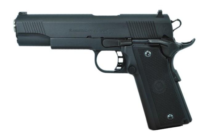 "American Classic American Classic Commander 10mm Semi-Auto Pistol - Item #: ACXB10MB / MFG Model #:  / UPC:  - XB 1911 10MM BL 5"" SFTY 14+1 BLUED FINISH | AMBI SAFETY"