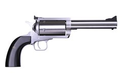 "LIPSEY'S EXCLUSIVE Magnum Research BFR Revolver 460 S&W Magnum  Item #: MRBFR460SW5B / MFG Model #: BFR460SW5B / UPC: 761226089919 BFR REVLVR 460SW BISLEY 5.75"" BLACK MICARTA GRIP/STAINLESS"