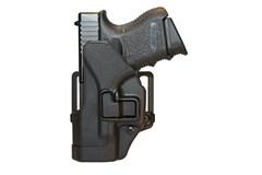 BLACKHAWK! Serpa CQC Holster   Item #: BL410501BK-L / MFG Model #: 410501BK-L / UPC: 648018013836 SERPA CQC GLOCK 26/27/33 LH LEFT HAND MODEL