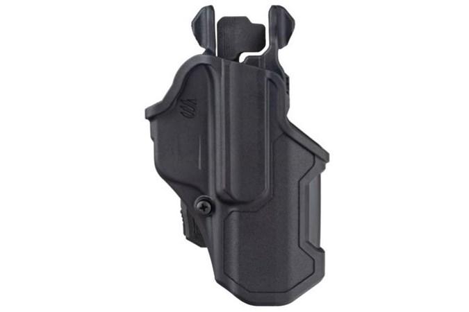 BLACKHAWK! T-Series  Accessory-Holsters - Item #: BL410768BKR / MFG Model #: 410768BKR / UPC: 604544648027 - T-SERIES L2C GLOCK 43 RH LEVEL 2   THUMB DRIVE