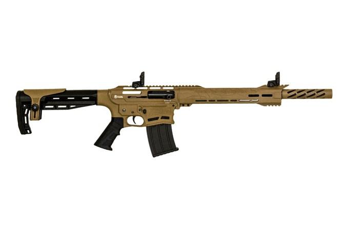 Legacy Sports International Boss 25 12 Gauge Shotgun - Item #: LSCBOSS2512-FDE / MFG Model #: CBOSS2512-FDE / UPC: 682146831986 - CITADEL BOSS 25 12/18.75 FDE