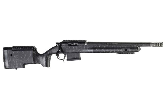 "Christensen Arms BA Tactical 6.5 Creedmoor Rifle - Item #: CNCA10271H88281 / MFG Model #: CA10271-H88281 / UPC: 810651025501 - BA TAC 6.5CR BLK/GRY 16"" TB CA10271-H88281"