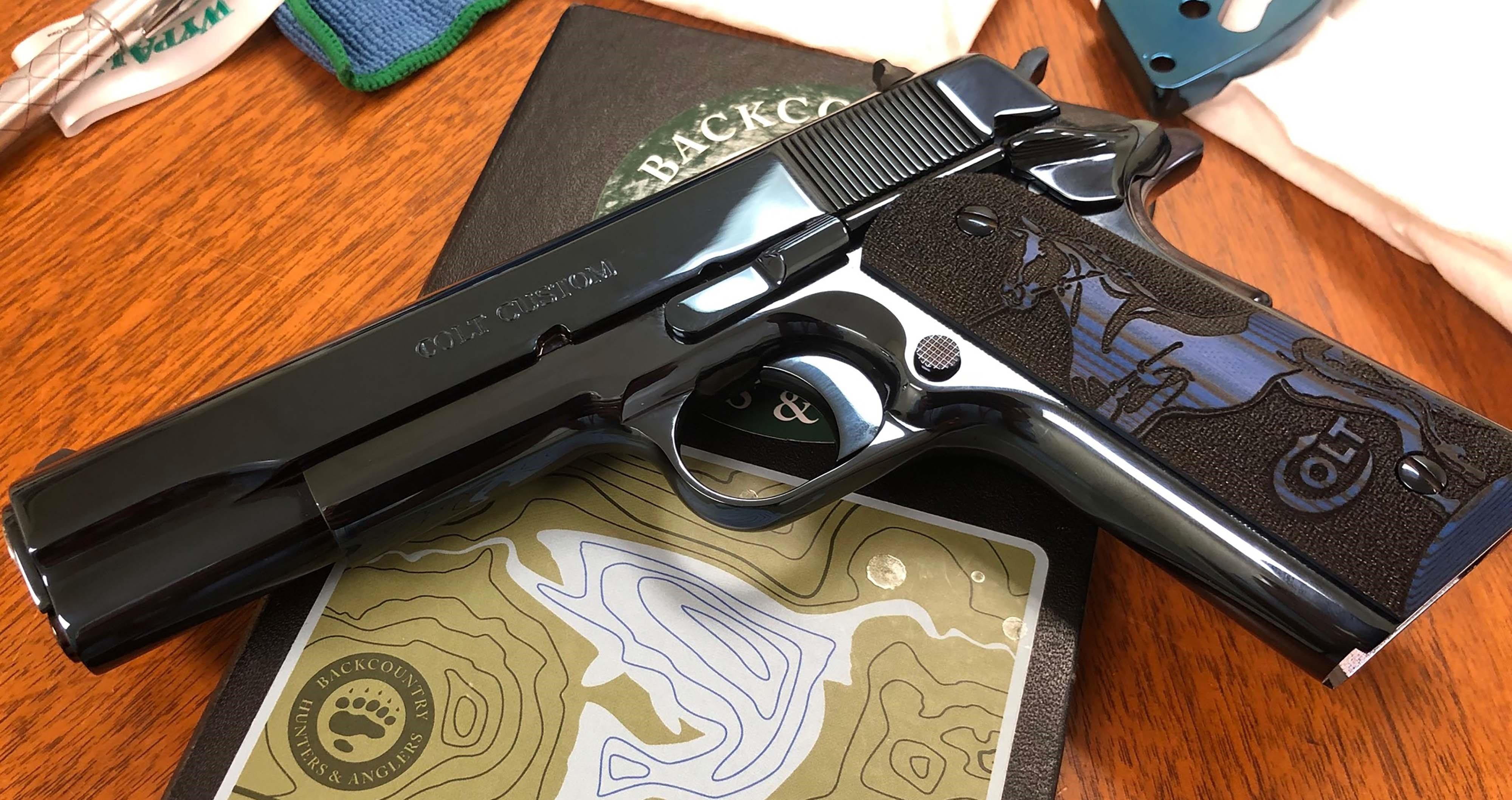 Colt SERIES 80 CUSTOM 38 SUPER