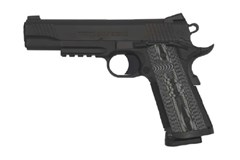 "TALO EXCLUSIVE Colt Government 45 ACP  Item #: COO1080RGCCU / MFG Model #: O1080RGCCU / UPC: 098289111852 COMBAT UNIT 45ACP BLK 5"" RAIL"