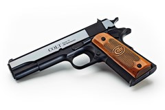 TALO EXCLUSIVE Colt Government Classic USA 45 ACP  Item #: COO1911C-USA / MFG Model #: O1911C-USA / UPC: 098289112385 CLASSIC USA 45ACP BL/WD SER70# SERIES 70