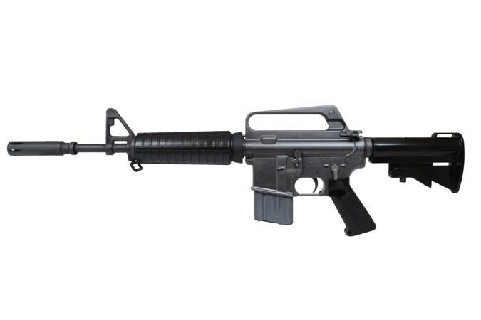 "Colt XM177E2 AR-15 223 Rem   5.56 NATO Rifle - Item #: COCRXM177E2B / MFG Model #: CRXM177E2B / UPC: 098289023575 - XM177E2 AR-15 5.56 16"" BLACK #"