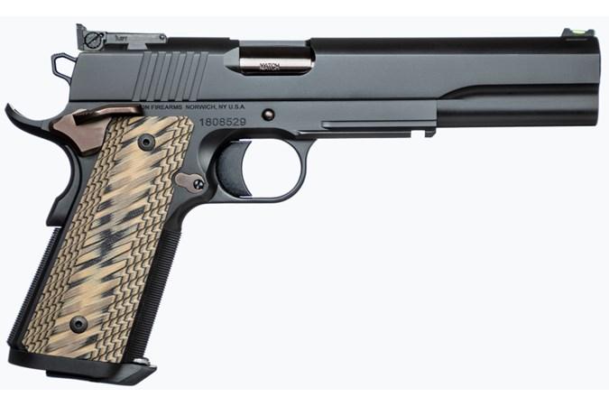 "CZ-USA Dan Wesson Kodiak Black 10mm Semi-Auto Pistol - Item #: CZ01853 / MFG Model #: 01853 / UPC: 806703018539 - DW KODIAK BLACK 10MM G10 6"" AS BLACK STAINLESS FRAME | 8+1"