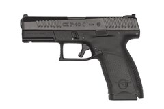 CZ-USA CZ P-10 Compact 9mm  Item #: CZ01531 / MFG Model #: 01531 / UPC: 806703015316 P-10 C 9MM BLK/POLY 10+1 REVERSIBLE MAG CATCH