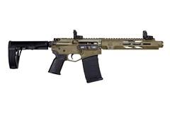 "Diamondback Firearms Diamond DB15 Pistol 300 AAC Blackout  Item #: DB15P300DS10FDE / MFG Model #: DB15P300DS10FDE / UPC: 810035751408 DB15D PIST 300BLK FDE 10"""