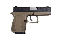 """Diamondback Firearms DB9 9mm  Item #: DB9FDE / MFG Model #: DB9FDE / UPC: 815875011408 DB9 GEN IV 9MM BLK/FDE 3"""" 6+1"""