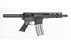 "Del-Ton Lima Pistol 223 Rem | 5.56 NATO  Item #: DEPFT75-4 / MFG Model #: PFT75-4 / UPC: 848456002687 LIMA PISTL 5.56 7.5"" BK MLOK MLOK RAIL"