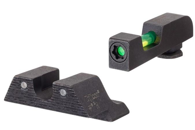 Trijicon Trijicon DI Night Sight Set  Accessory-Lasers and Sights - Item #: TRGL801C601102 / MFG Model #: Gl801-C-601102 / UPC: 719307215207 - DI NIGHT SIGHT SET GLK STD GL801-C-601102