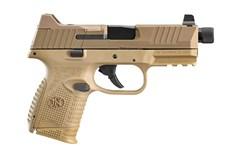 FN FN 509 Compact Tactical 9mm  Item #: FN66-100780 / MFG Model #: 66-100780 / UPC: 845737012656 509C TACT 9MM FDE 24+1 NS TB