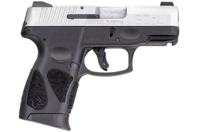 """Taurus G2C 9mm Semi-Auto Pistol - Item #: TAG2CSSNS / MFG Model #: 1-G2C939NS-12 / UPC: 725327932406 - G2C 9MM SS/BLK 3.2"""" NS 12+1  # 1-G2C939NS-12   NIGHT SIGHTS"""