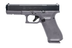 "LIPSEY'S EXCLUSIVE GLOCK G17 G5 MOS 9mm  Item #: GLPA175S201MOSG / MFG Model #: PA175S201MOSGF / UPC: 764503044366 G17 G5 9MM 10+1 4.49"" MOS GRAY 3-10RD MAGS 