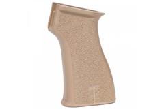 Century Arms US Palm AK Pistol Grip   Item #: CAGR086 / MFG Model #: GR086 / UPC: 787450528413 US PALM AK PISTOL GRIP FDE