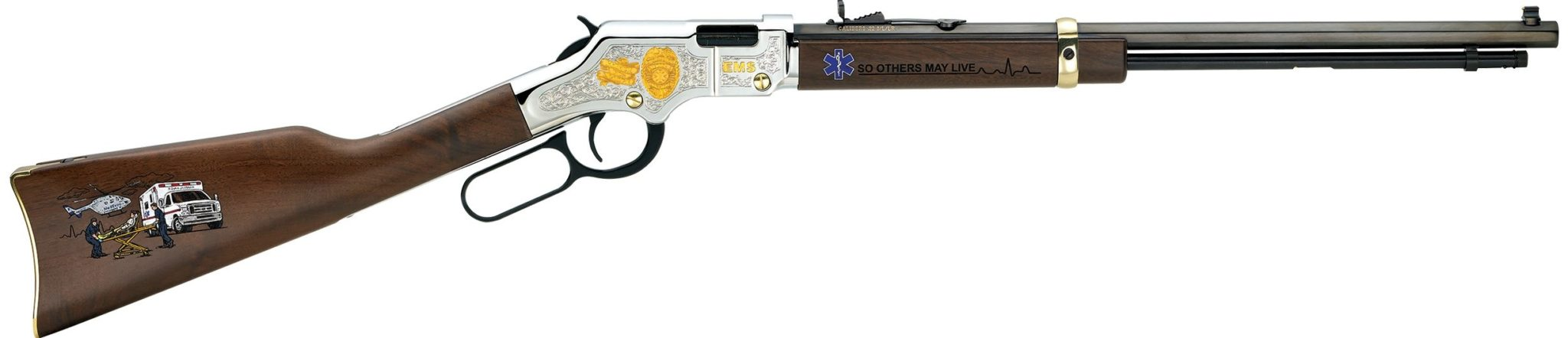 Henry Repeating Arms EMS TRIBUTE EDITION 22 LR