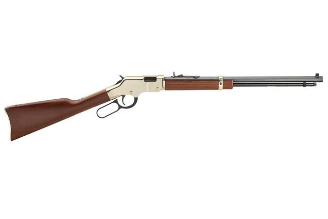 Henry Repeating Arms Goldenboy 22 LR Rifle - Item #: HNH004 / MFG Model #: H004 / UPC: 619835006004 - GOLDEN BOY LEVER 22LR BL/WD