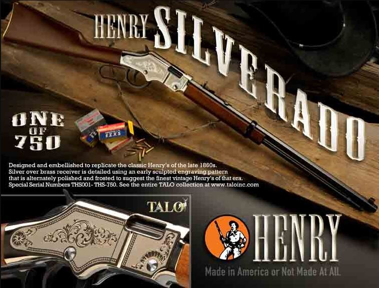 Henry Repeating Arms GOLDENBOY 22 LR