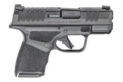 "Springfield Armory Hellcat 9mm  Item #: SFHC9319BLC / MFG Model #: HC9319BLC / UPC: 706397943943 HELLCAT 9MM BLK 3"" 10+1 NS HC9319BLC"