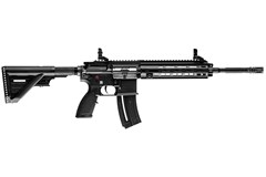 "Heckler and Koch (HK USA) HK416 22 LR  Item #: HK81000401 / MFG Model #: 81000401 / UPC: 642230257870 HK416 RIFLE 22LR 16.1"" 20RD 81000401"
