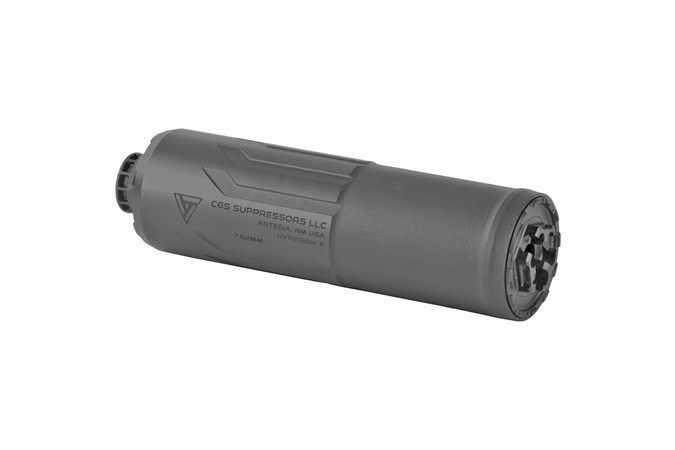 CGS Group Hyperion K 7.62 x 51mm | 308 Win NFA - Silencer - Item #: CSCGSHYPERIONK / MFG Model #: CGS-HYPERION-K / UPC: 850002123111 - CGS HYPERION K 7.62 SILENCER CGS-HYPERION-K