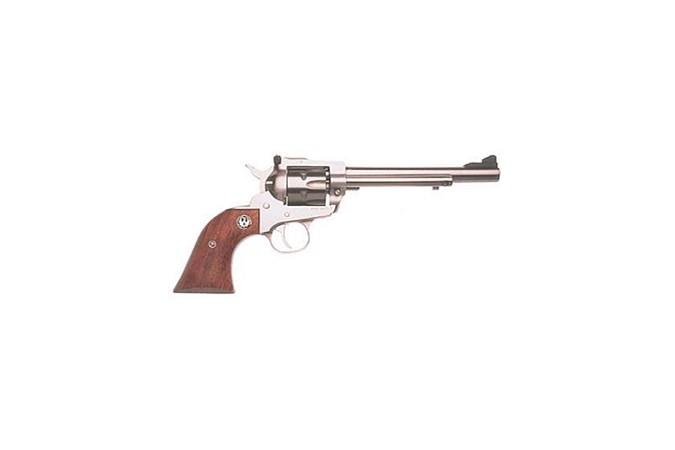 Ruger Single Six Convertible 22 LR | 22 Magnum Revolver - Item #: RUKNR6 / MFG Model #: 0626 / UPC: 736676006267 - SINGLE SIX 22-22MAG 6.5 SS AS 0626