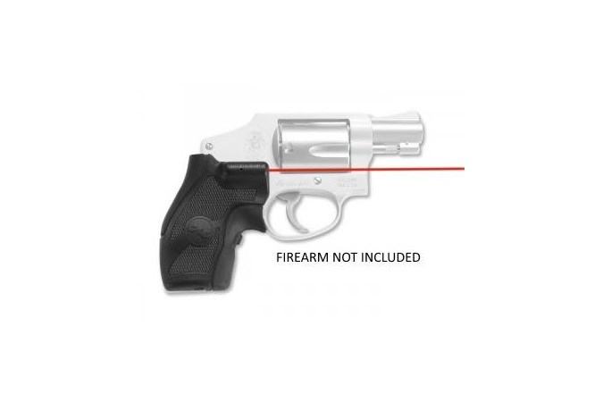 Crimson Trace Laser Grip J-Frame Round Butt  Accessory-Lasers and Sights - Item #: CTLG-405 / MFG Model #: LG-405 / UPC: 610242004058 - LASERGRIP S&W J-FRAME COMPACT ROUND BUTT | FRONT ACTIVATION
