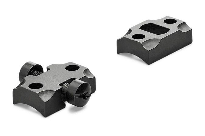 Leupold STD Ruger American 2-pc  Accessory-Rings/Mounts/Bases - Item #: LP171903 / MFG Model #: 171903 / UPC: 030317013042 - BASE STD RUGER AMER 2-PC MATTE 2-PIECE BASE | MATTE BLACK