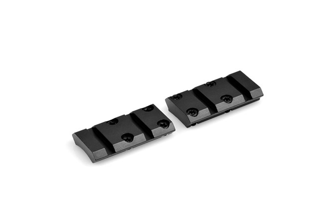 Warne Maxima Base  Accessory-Rings/Mounts/Bases - Item #: WNM927/929M / MFG Model #: M927/929M / UPC: 656813101603 - MAXIMA BASE 2PC X-BOLT
