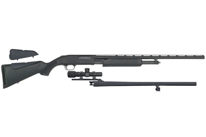 Mossberg 500 Field/Slug Combo 12 Gauge Shotgun - Item #: MB58244 / MFG Model #: 58244 / UPC: 015813582445 - 500 FLD/SLUG COMBO 12GA SCOPE INCLUDES 2.5X20 SCOPE