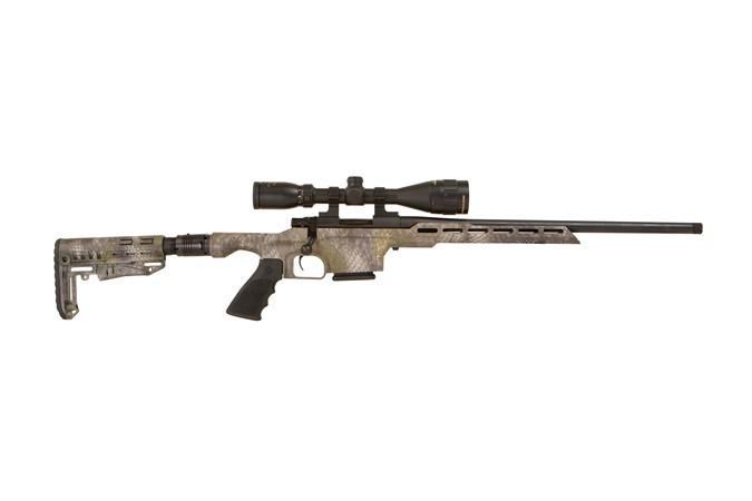 HOWA M1500 Mini Action 223 Rem Rifle - Item #: LSHMXL223-GRKL / MFG Model #: HMXL223-GRKL / UPC: 682146118469 - HOWA MINI ACTION 223REM KRATOS THREADED BARREL | GAMEPRO PKG