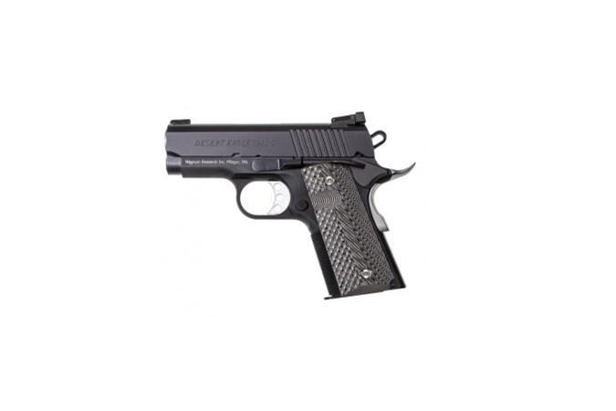 "Magnum Research Desert Eagle 1911 45 ACP Semi-Auto Pistol - Item #: MRDE1911U / MFG Model #: DE1911U / UPC: 761226086888 - DESERT EAGLE 1911 45ACP 3"" BLK"