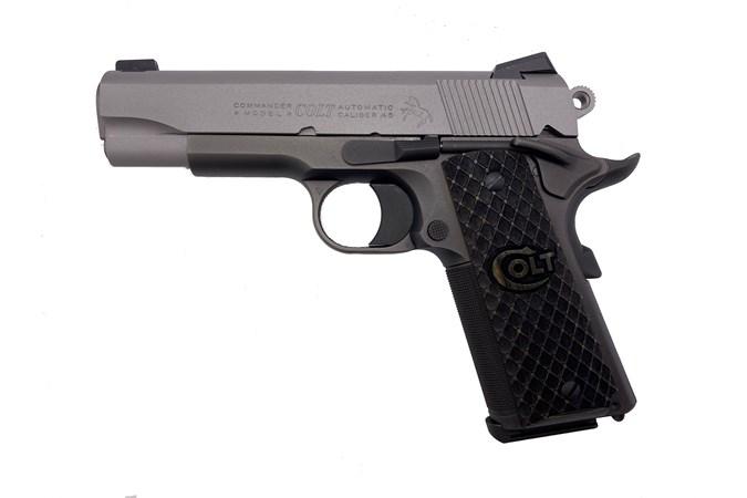 Colt Custom Lightweight Commander 45 ACP Semi-Auto Pistol - Item #: COO4840E / MFG Model #: O4840E / UPC: 098289011268 - CUSTOM LW COMMANDER 45ACP 4.25 1-OF-100 | CUSTOM SHOP