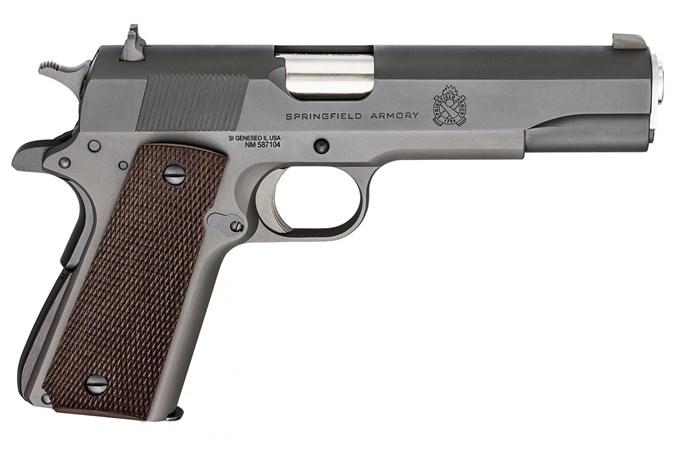 Springfield Armory Defender Mil-Spec Parkerized 45 ACP Semi-Auto Pistol