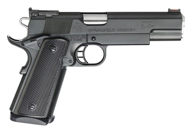 Springfield Armory 1911 Custom Single Stack 9mm Semi-Auto Pistol - Item #: SFPC9SSC-9 / MFG Model #: PC9SSC-9 / UPC: 706397913755 - 1911 CUSTOM SINGLE STACK 9MM CUSTOM SHOP