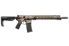 "POF USA Renegade+ 5.56 x 45mm  Item #: PF00910 / MFG Model #: 00910 / UPC: 847313009104 RENEGADE+ DI 5.56REM 16.5"" BRZ"