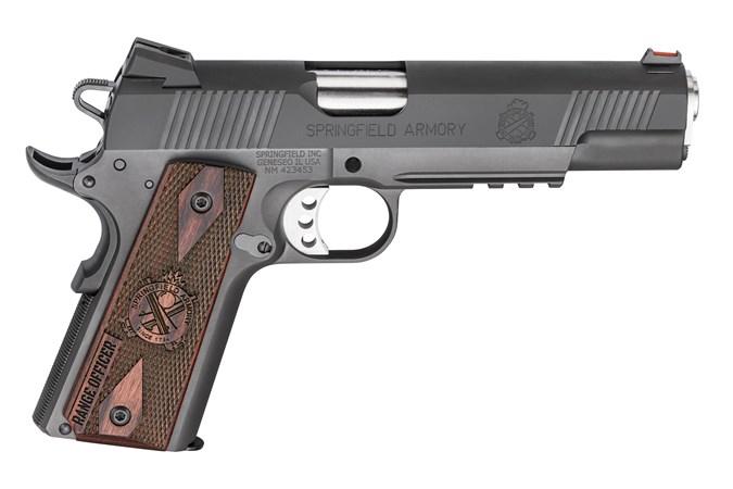 "Springfield Armory Range Officer Operator 45 ACP Semi-Auto Pistol - Item #: SFPI9131L / MFG Model #: PI9131L / UPC: 706397913052 - 1911 RO OPERATOR 45ACP 5"""